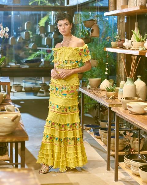Pré-Venda Thassia Amarelo